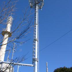 業務用無線向け28m鋼管柱